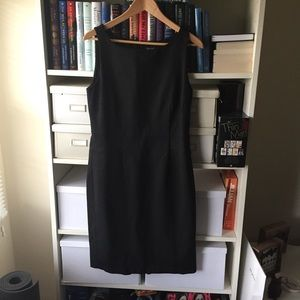 Ann Taylor Black Shift Dress